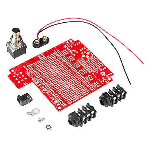 SparkFun (PID 13124 + 13967) Proto Pedal with aluminum enclosure by SparkFun