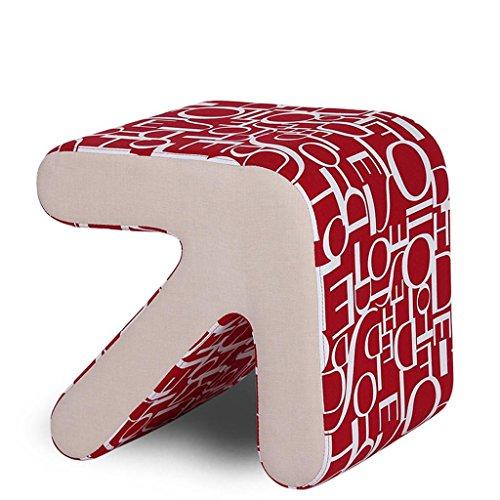 36cm Chaussures Petit Red Trumpet Bois grand Butterfly Créatif Arrow Bas Bottom 31cm Canapé 40 Changement Printing Tabouret Fabric De 33 Ménage Hetao Alphabet nvZ8wxSqRx