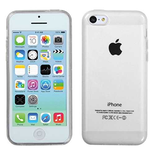 MYBAT transparente brillant Candy Skin Coque pour Apple iPhone 5 C – Emballage – Clair