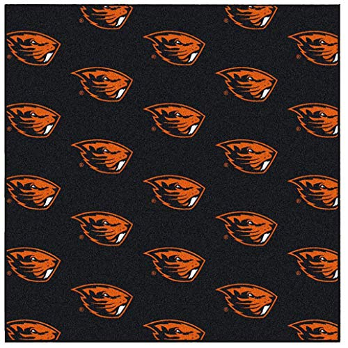 Ambient Rugs NCAA My Team College Repeating Rug Oregon State - 9