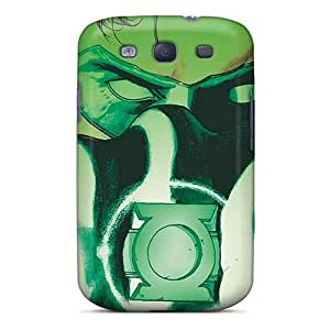 Protector Hard Phone Cover For Samsung Galaxy S3 With Allow Personal Design Fashion Green Lantern Pattern MansourMurray
