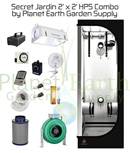 515U4kfmopL - Secret Jardin Grow Tent (2' x 2') HPS Combo Package #1