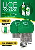 Lice Treatment | Shampoo & Two Combs | Helps