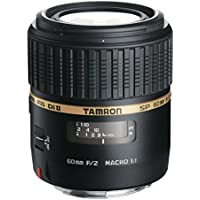 Tamron AF 60mm f/2.0 SP DI II LD IF 1:1 Macro Lens for Nikon Digital SLR Cameras (Model G005NII) (International Model) No Warranty