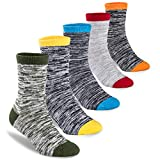 Bobo 5 Pack kids Boys Fashion Cotton and Soft Cute Breathable Socks size8-11years