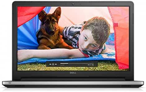 Dell Inspiron 17 5000 5755 17.3 inch Laptop (LED Backlit Display, AMD Quad Core A8-7410 Processor 2.2GHz, 8GB RAM, 1TB HDD, Windows 8, Silver) (Certified Refurbished)