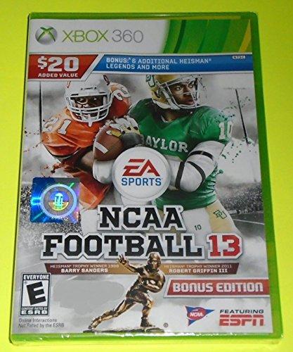 NCAA Football 13 Xbox 360 BONUS