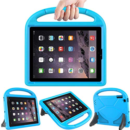 (LEDNICEKER Kids Case for iPad 2 3 4 - Light Weight Shock Proof Handle Friendly Convertible Stand Kids Case for iPad 2, iPad 3rd Generation, iPad 4th Gen Tablet - Blue)