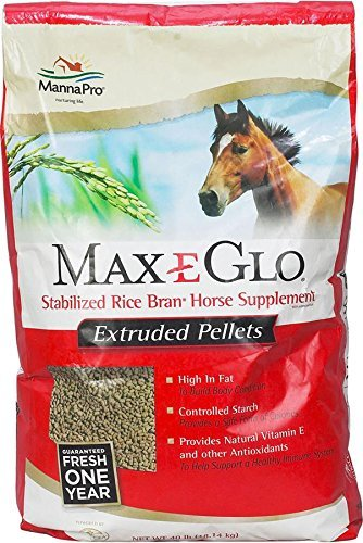 Manna Pro Max-E-Glo Pellets for Horse, 40 lb by Manna Pro