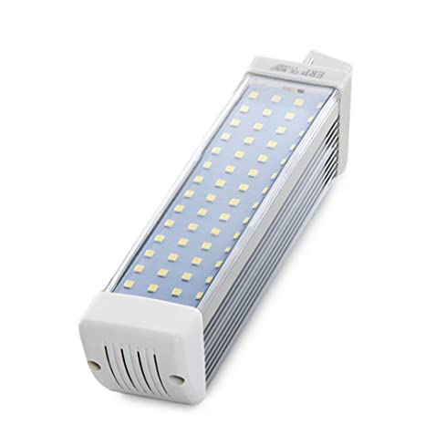 Greenice | Bombilla de LEDs G24 60 X SMD2835 12W 1200Lm 30.000H | Blanco Cálido