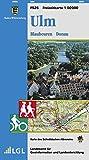 Ulm, Blaubeuren, Donau: Karte des Schwäbischen Albvereins (Freizeitkarten 1:50000, Band 525)