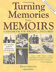Turning Memories Into Memoirs contains countless helpful suggestions for remembering--researching--organizing--collecting and writing memories and family or personal stories. It includes * how-to writing exercises * clear explanation of liter...