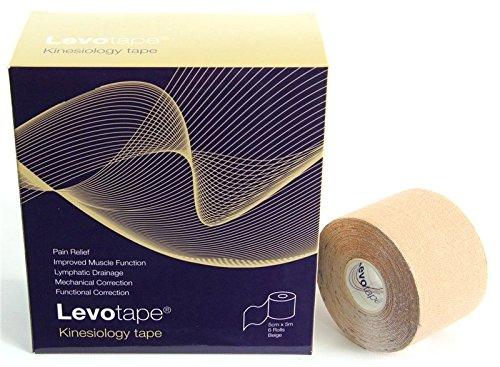 Levotape Kinesiology Tape Black by Levotape