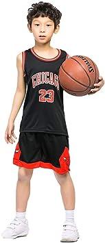 KSWX Camiseta de Baloncesto Niño Bulls 23 Michael Jordan Traje ...