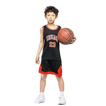 KSWX Camiseta de Baloncesto Niño Bulls 23 Michael Jordan ...