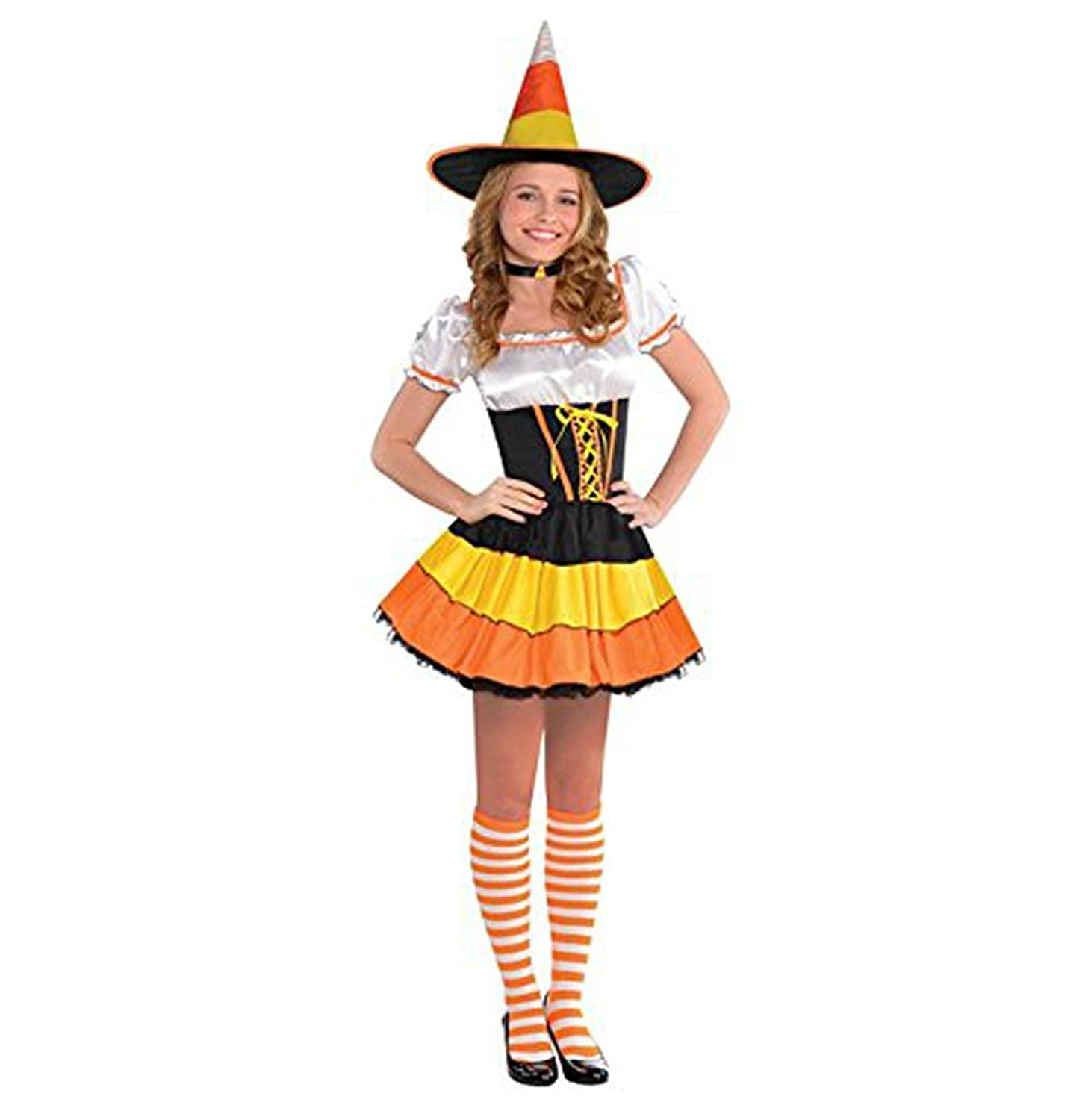 amscan junior s candy corn cutie costume