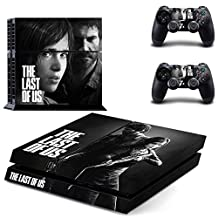 PS4 The Last of Us Vinyl Skin Decal Cover for Playstation 4 System Console and Controllers