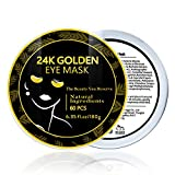 Under Eye Collagen Patches,24K Gold Eye Mask,Eyes