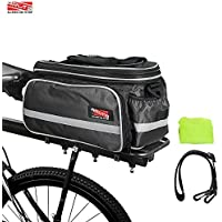 Arltb Bike Rear Bag (3 Colors) 20 - 35L Waterproof...