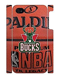 Exquisite Sports Series Handmade Print Basketball Team Logo Skin Phone Accessories Skin For Iphone 5/5S Case Cover
