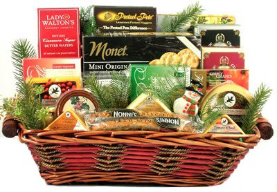 Merlot Cheddar - Cheese Lovers Gift Basket