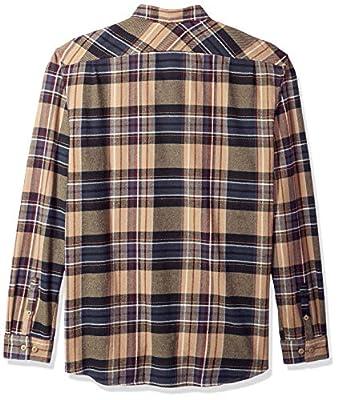RVCA Men's Ludlow Flannel Long Sleeve Woven Button Up Shirt
