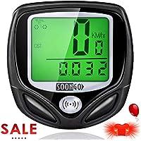 SOON GO Bike Speedometer, Bicycle Speedometer Wireless...