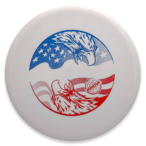 Innova Limited Edition 2018 4th of July Double Eagle Star Eagle Fairway Driver Golf Disc - White - 170-172g