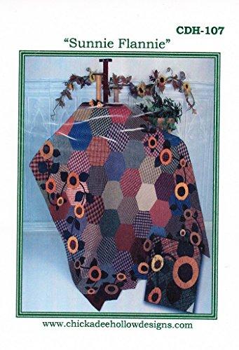 Sunnie Flannie Quilt Pattern By Carol L. Steffensen from Chick-a-Dee Hollow Designs 60