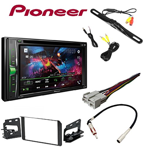 Pioneer AVH-200EX 2-Din 6.2″ DVD/CD/iPhone/Android/Bluetooth + Metra Double DIN Stereo Installation Dash Kit Chevy GMC Cadillac Set W/ HARNESS AND ANTENNA Review