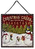 Snowman Christmas Cheer Magnetic Count Down to Christmas Advent Calendar #471081 by Grasslands Road