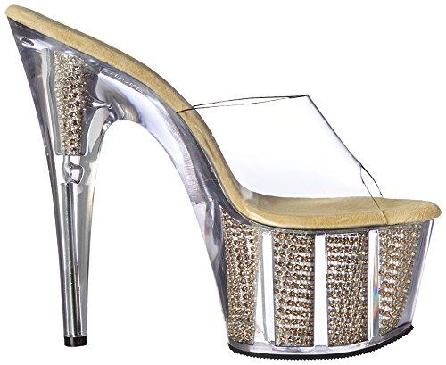 Adore CLR Femme Sandales SRS Pleaser Plateforme Srs SLV Gold Clr 701srs Ugnq7d7xa