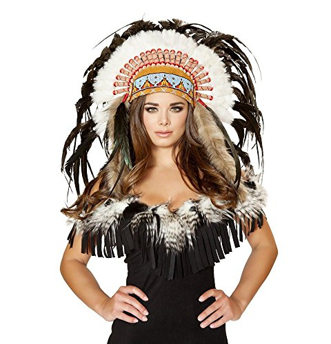 Roma Costume Women's Native American Headdress, Multi, One Size