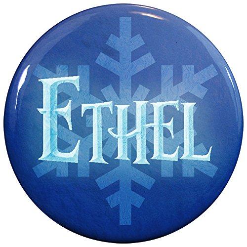 Buttonsmith® Ethel Winter Ice Name (Ethel Halloween Costume)