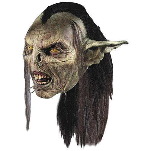 Moria Orc Mask Adult Mens Goblin LOTR Costume Fancy Dress