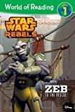 Zeb to the Rescue, Level 1, Disney Book Group, 1484702719