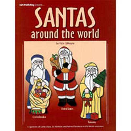 St Nicholas Costume Pattern (Stained Glass Pattern Book - Santas Around the World)