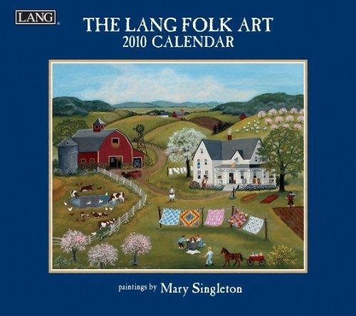 Folk Art 2010 Wall Calendar (Folk Art 2010 Calendar)
