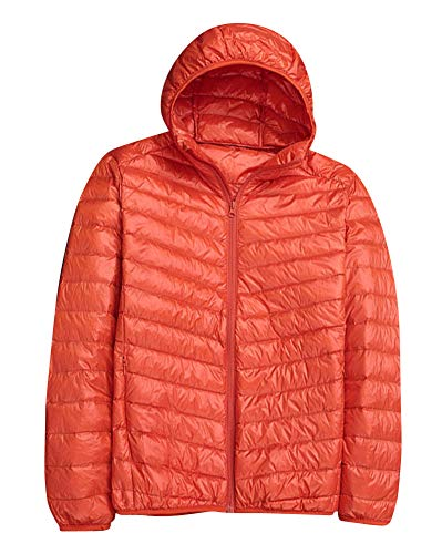 Hooded Orange ZiXing Jacket Warm Down Lightweight Jacket Winter Short Men's 55nxSwCqrz