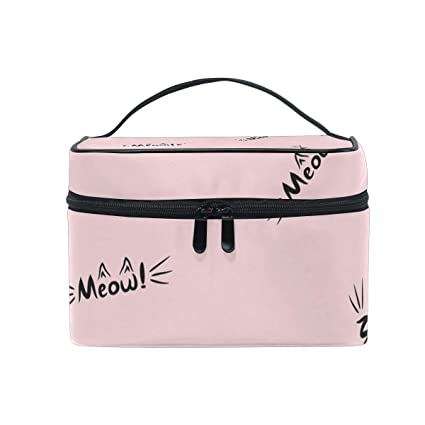 Animal Cat Meow - Neceser de Viaje para Mujer o niña, Color ...