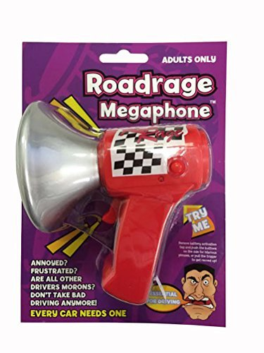 Road Rage Megaphone Adults Only!!! by Playmaker Toys Shop-Vac