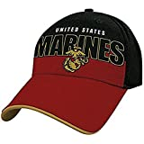 Officially Licensed Marines Block Logo Hat Cap Lid Beanie