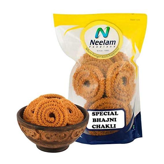 Neelam Foodland Special Bhajni Chakli, 400g
