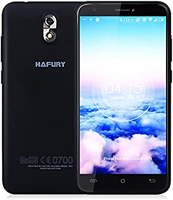 Smartphone Libre CUBOT HAFURY MIX 3G Smartphone Android 7.0 MTK6580A 1.3GHz Quad Core 5.0 IPS