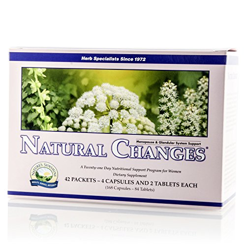 Nature's Sunshine Natural Changes, 21 Day | Menopause Supplements Provide Health-Balancing Nutrients Needed by The Maturing Female Body ()
