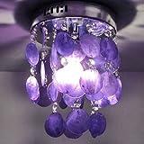 Amazon purple pendant lights ceiling lights tools home lightinthebox fashion pendant lamp for living room bedroom wholesale and retail modern home ceiling light aloadofball Images