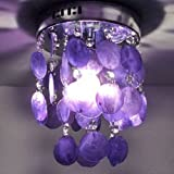 LightInTheBox Fashion Pendant Lamp For Living-Room Bedroom Wholesale And Retail Modern Home Ceiling Light Fixture Flush Mount - Pendant Light Chandeliers Lighting - Home Color=Purple;Voltage=110-120V