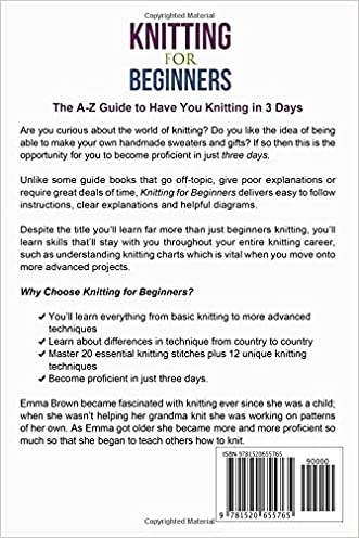 Knitting For Beginners The A Z Guide To Have You Knitting In 3 Days
