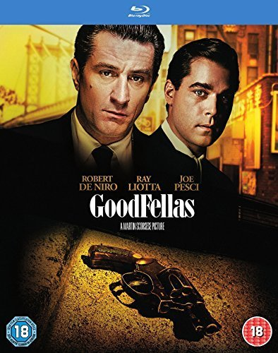 Goodfellas [25th Anniversary Edition] [Blu-ray] [1990] [2015] [Region Free]