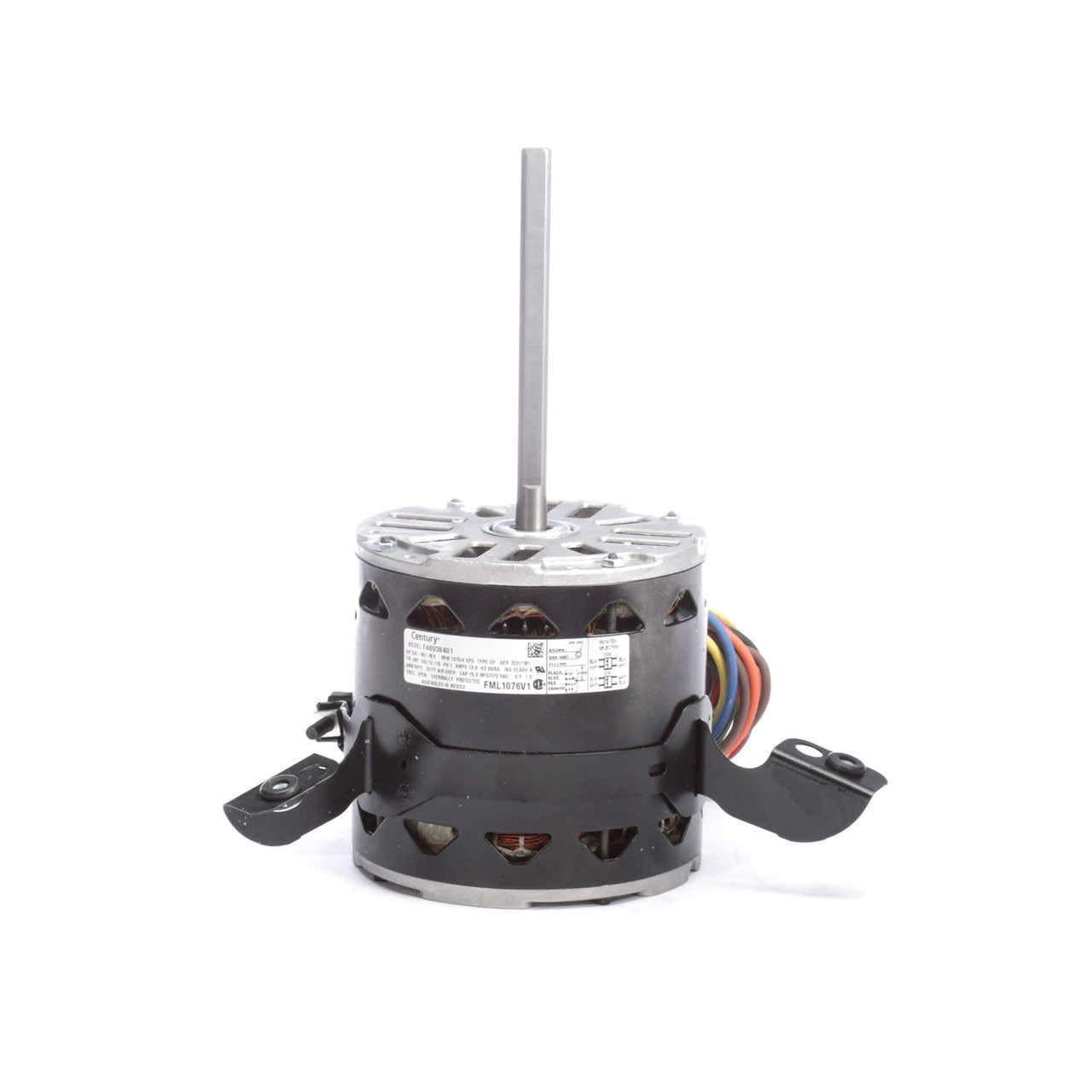 Motor, PSC, 3/4 HP, 1075 RPM, 115V, 48Y, OAO